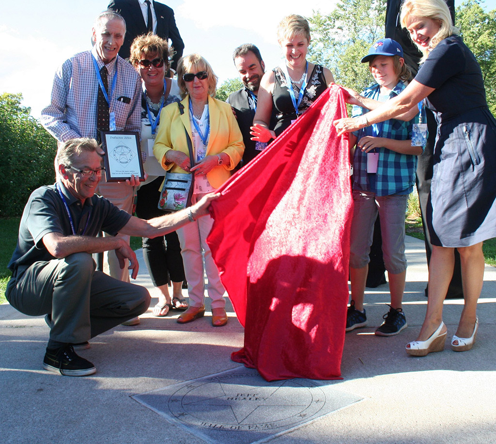 Healey stone unveiled