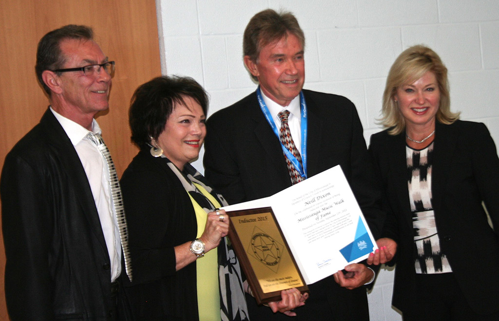 Neill Dixon's induction